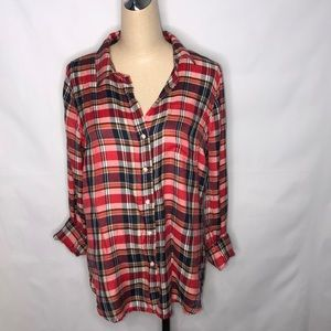 Flannel lucky brand